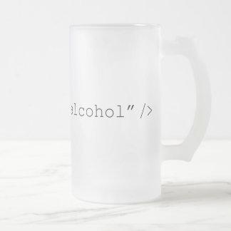 Chope Givrée Alcool d'entrée de HTML