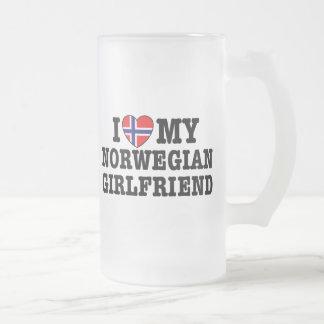 Chope Givrée Amie norvégienne