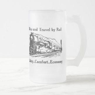 Chope Givrée Bateau vintage et voyage par chemin de fer