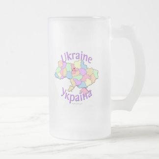 Chope Givrée Carte de l'Ukraine