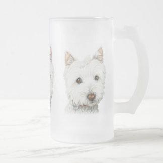 Chope Givrée Chien de Terrier blanc de montagne occidentale