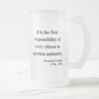 Chope Givrée Citation 3a de Ben Franklin