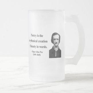 Chope Givrée Citation 5b d'Edgar Allen Poe