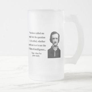 Chope Givrée Citation 9b d'Edgar Allen Poe
