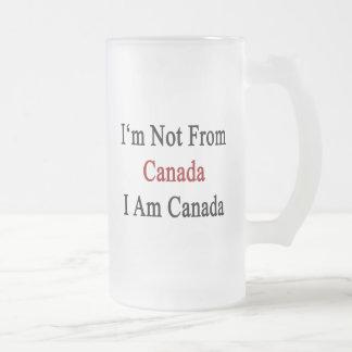 Chope Givrée Je ne suis pas le Canada que je suis le Canada