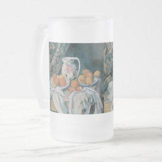 Chope Givrée La vie toujours avec un rideau par Paul Cezanne