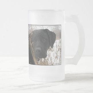 Chope Givrée Labrador noir - chasse de fin de saison