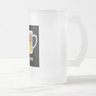 Chope Givrée Lard + La bière sont jusqu'à quelque chose
