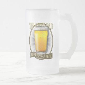 Chope Givrée Le meilleur papa mérite une bière