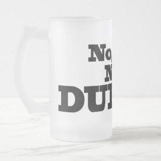 Chope Givrée Pas Durnk ! Verre de bière givré