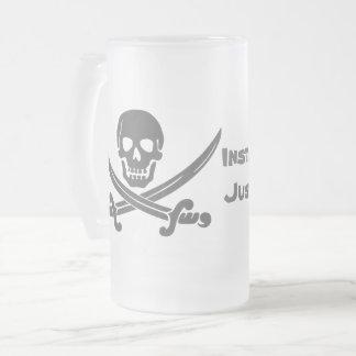 Chope Givrée Pirate instantané - ajoutez juste le rhum