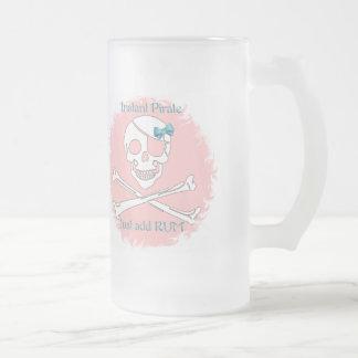 Chope Givrée Pirate instantané rose
