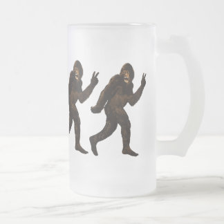 Chope Givrée Signe de paix de Bigfoot