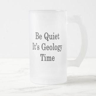 Chope Givrée Soyez tranquille il est temps de géologie