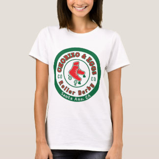 Chorizo et rouleau Derby des oeufs Co Ed T-shirt