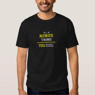 Chose de NINOS, vous ne comprendriez pas T-shirt
