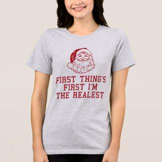 Chose du père noël de T-shirt de Tumblr première