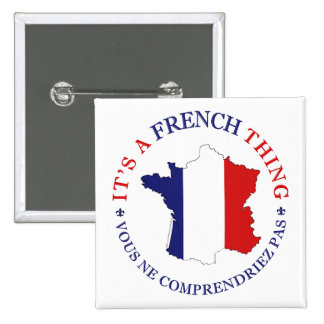Chose française pin's avec agrafe
