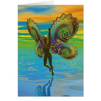 Choses à ailes - plongeur de ciel cartes