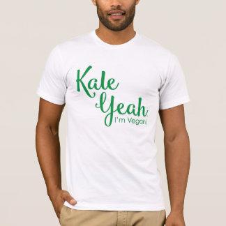 Chou frisé ouais je suis le T-shirt végétalien des