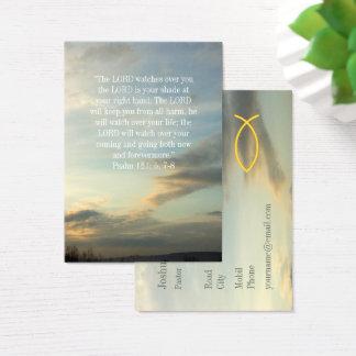Chrétien | inspiré cartes de visite