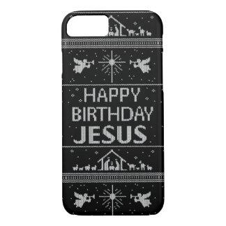 Chrétien laid élégant de chandail de Noël Coque iPhone 7