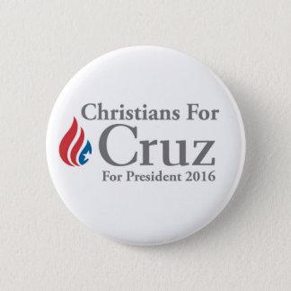 CHRÉTIENS pour le bouton de président de Ted Cruz Pin's