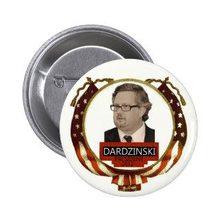 Chris Dardzinski pour le président 2012 Pin's