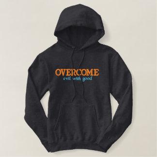 Chrisitan a brodé le sweat - shirt à capuche : sweatshirt avec capuche
