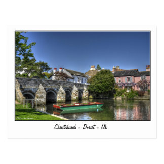 Christchurch - Dorset - le R-U Carte Postale