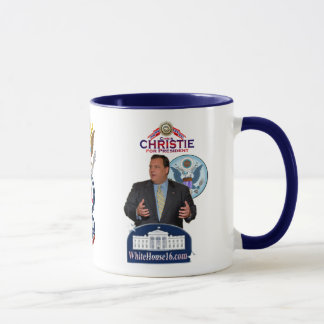 Christie pour le Président Ringer Mug