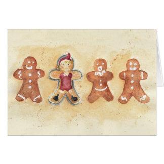 Christmas little man cartes de vœux