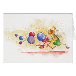 Christmas stress cartes de vœux