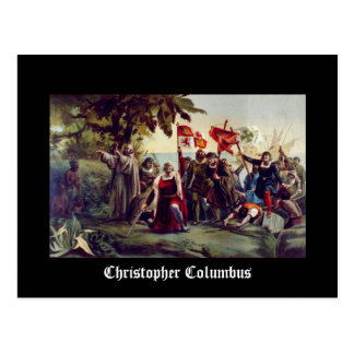 Christophe Colomb Carte Postale