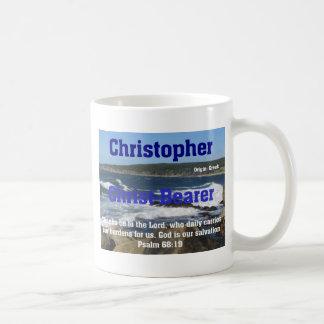 Christopher Mug Blanc
