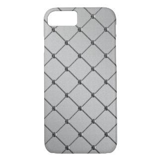 Chrome de grille de fil coque iPhone 7