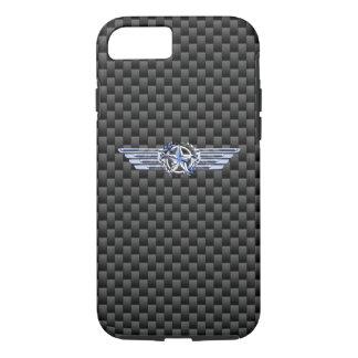 Chrome privé général de pilote d'air comme des coque iPhone 7