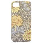 Chrysanthèmes vintages de papier peint floral étuis iPhone 5