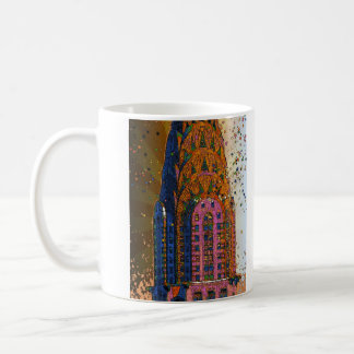 Chrysler construisant le plan rapproché supérieur mug