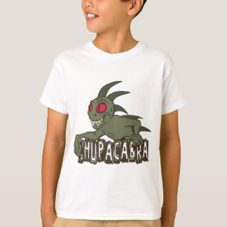 Chupacabra de bande dessinée t-shirt