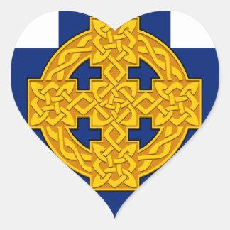 Church_in_Wales_flag Sticker Cœur
