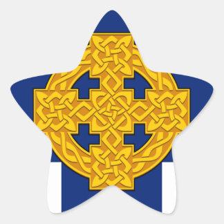 Church_in_Wales_flag Sticker Étoile