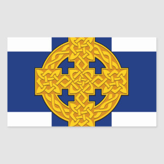 Church_in_Wales_flag Sticker Rectangulaire