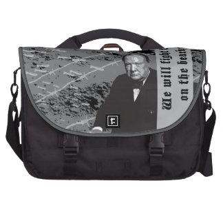 Churchill à la guerre sacoche pour ordinateur portable