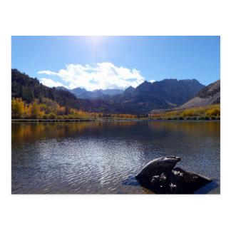 Chute en sierra Nevadas Carte Postale