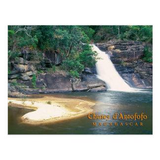 Chute le d'Antofofo, Madagascar Cartes Postales