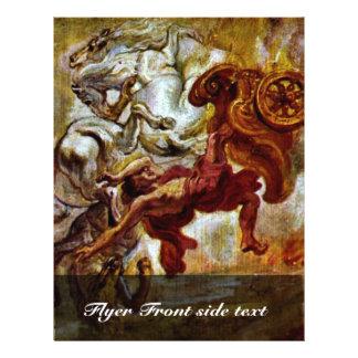 "Chute Phaa ""Thons par Rubens Peter Paul Tract"