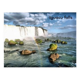 Chutes d'Iguacu de panorama Cartes Postales