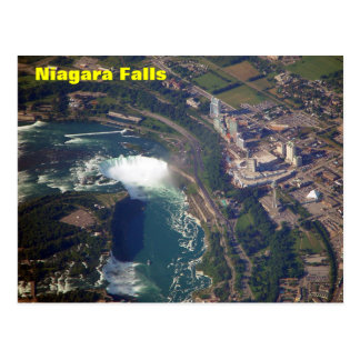 Chutes du Niagara de carte postale ci-dessus