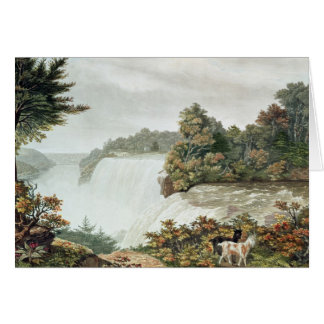 Chutes du Niagara, d'île de chèvre Carte De Vœux